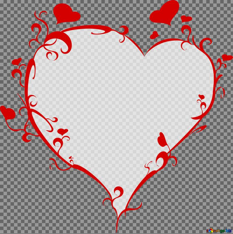 heart frame png №54721
