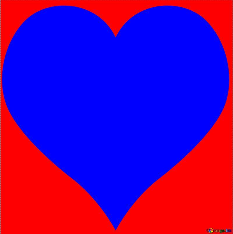 Heart shaped frame №54692