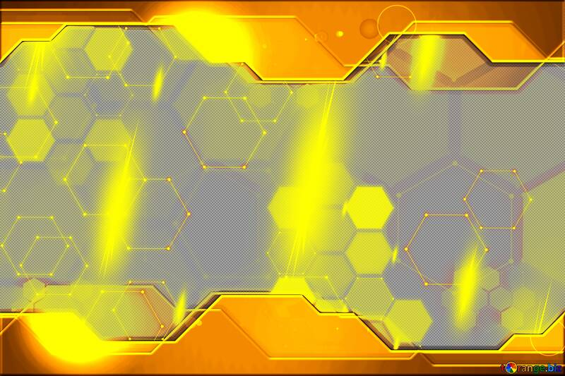 Gold Information Technology business concept Hi-tech  Elements №54486