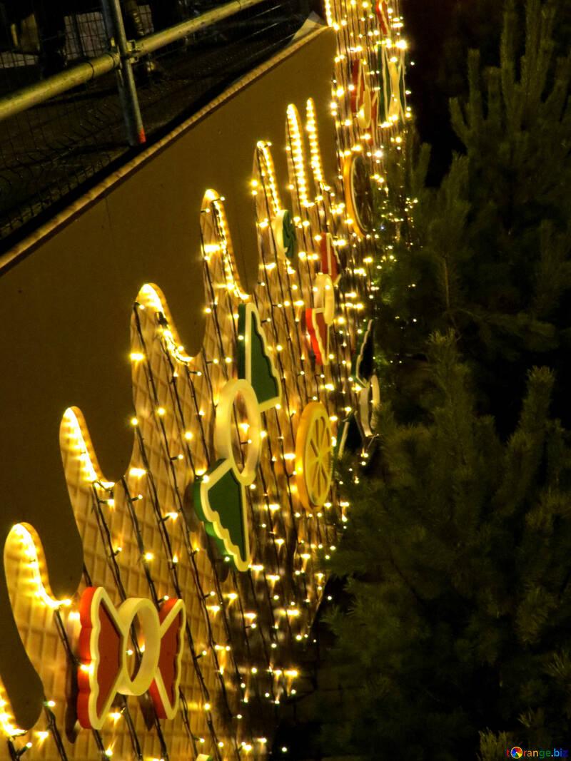 Lights Gold color №54119