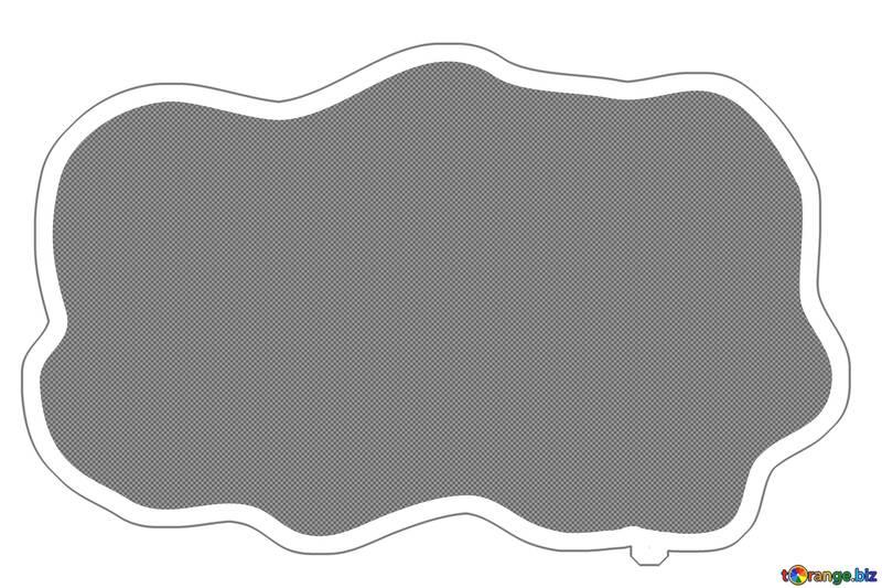 Sticker cloud template №54741