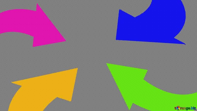 Arrows Youtube thumbnail transparent background №54780