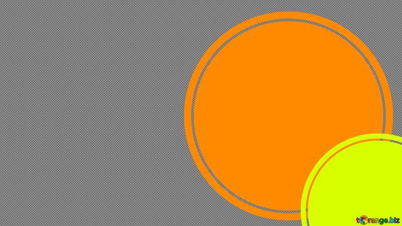 Orange yellow circle Youtube thumbnail transparent background №54813