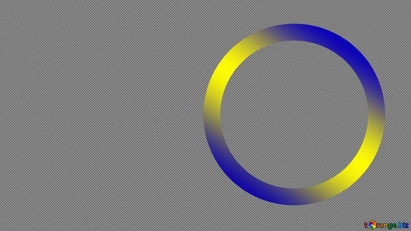 Rainbow circle Youtube thumbnail transparent background №54776