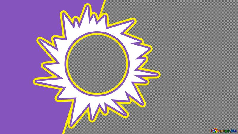 Sun stars Youtube thumbnail transparent background №54826