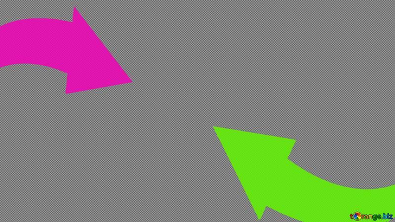 Two arrows Youtube thumbnail transparent background №54781