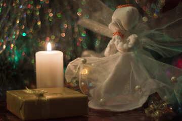 Christmas  candle №6646