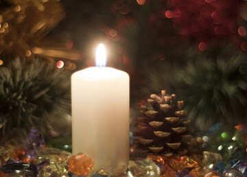 Romance . Candles. №6673