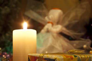 Рождество при свечах. №6650