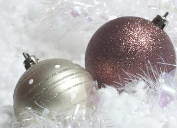 Christmas  Christmas Cards .  balls. №6342