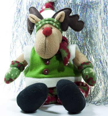 Рождественский олень. №6709