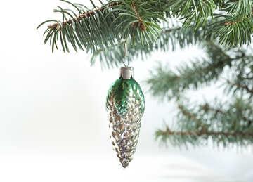 Natale albero giocattolo di L`URSS . colpo. №6760