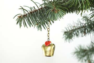 Christmas tree  Decoration  of the  Switzerland №6746