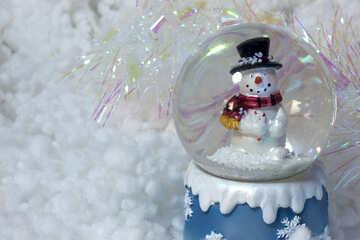 Christmas  blank  postcard. №6471
