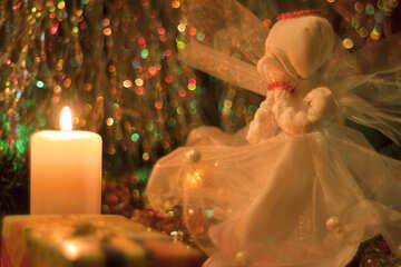 Картинка к рождеству. №6618