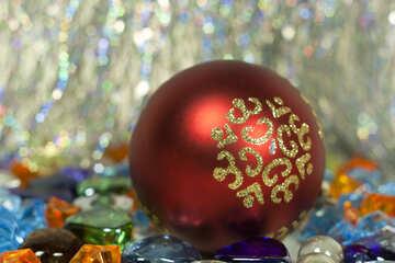 Christmas  ball. №6708