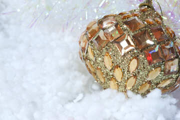 Открытка к рождеству.  №6383