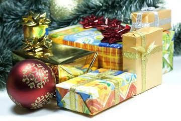 Gifts  at  Christmas №6731