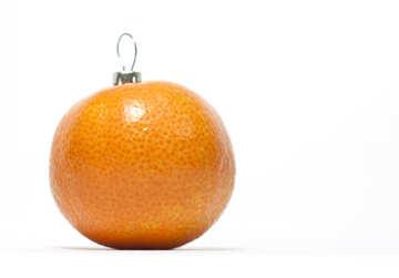 Mandarin - Christmas  decoration. №6807