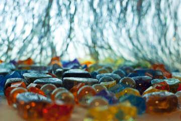 Multicolore vetro . priorità bassa. №6715