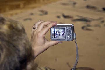 Digital Camera sony women hands №6156