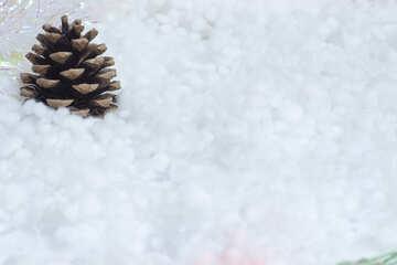 Bump  at  snow №6415