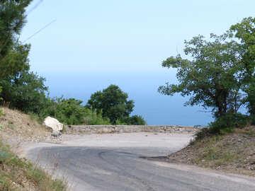 Strada montagne sopra Mare №6963
