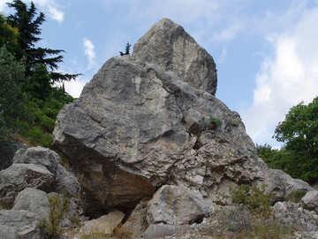 Huge  stone №6967