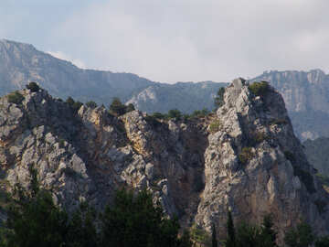 Mountain  landscape №6949