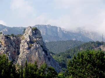 Mountain  peak №6943