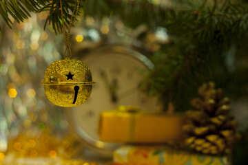 New Year  jingle bell , . №6866