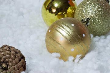 Christmas tree  ball decorations. №6421