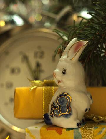 Rabbit   Christmas  Tracks №6862