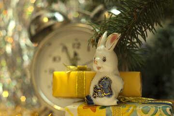 New  year  year  Rabbit. №6863