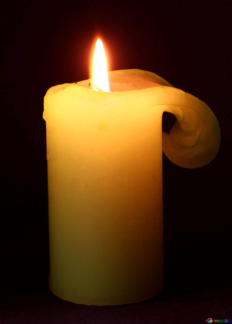 Burning  candle №6175