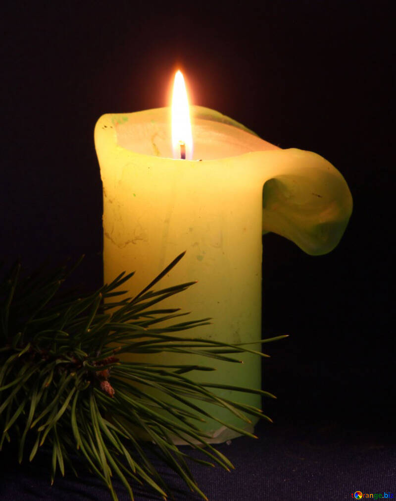 Funerale candela №6174