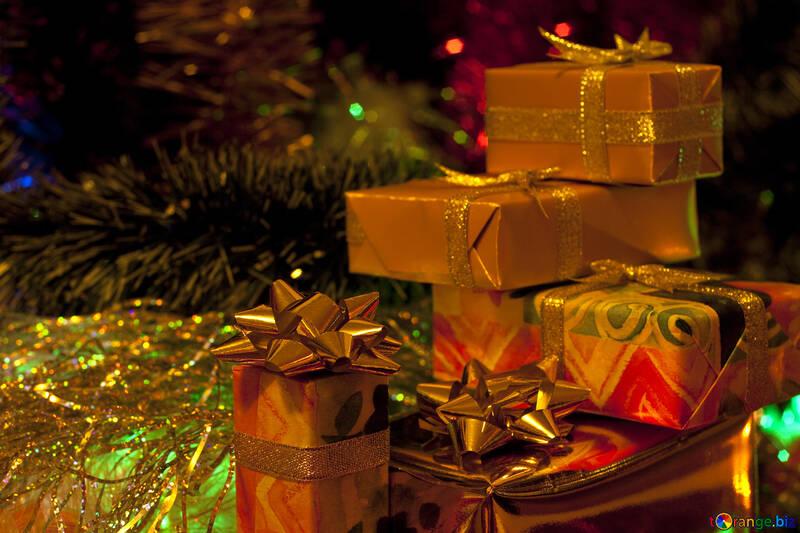 Gifts   Christmas tree. №6494