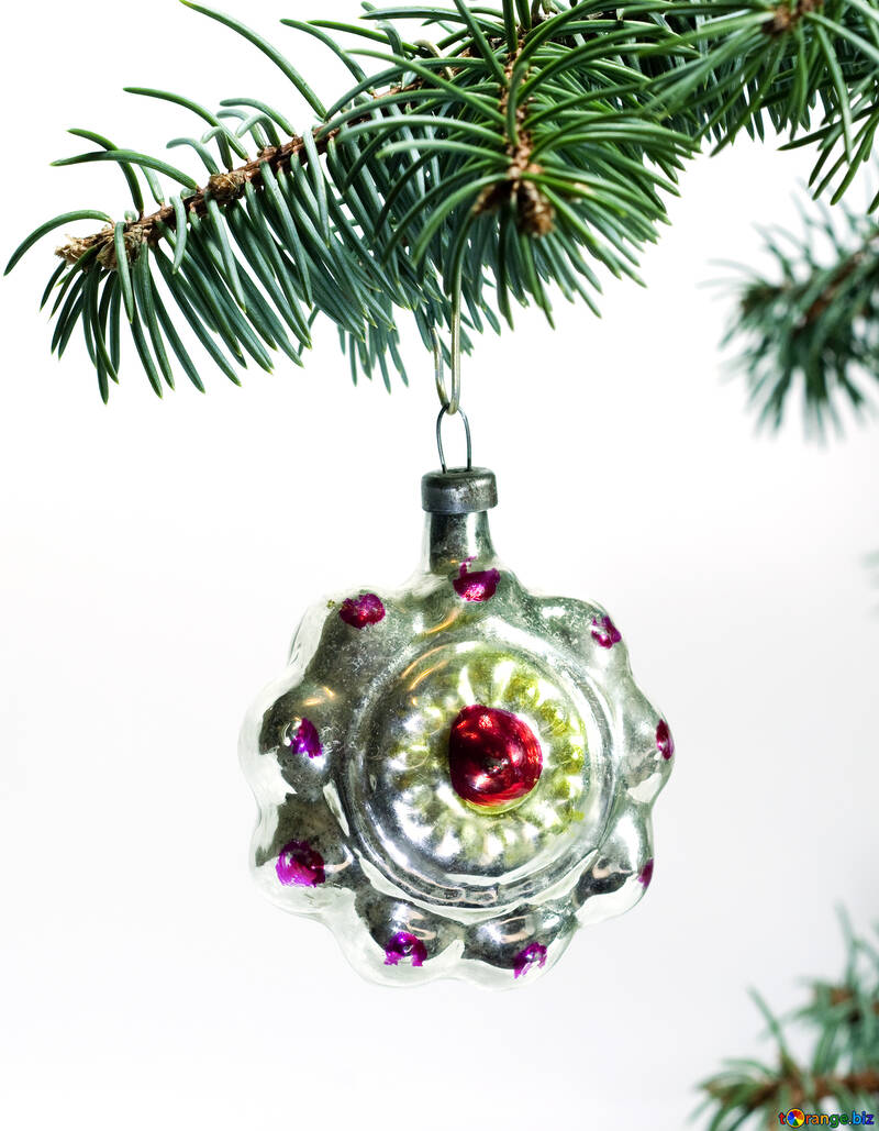 Christmas  toy  of the  Russia. №6830