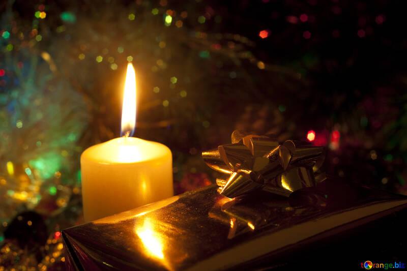 Weihnachten Kerze. №6620
