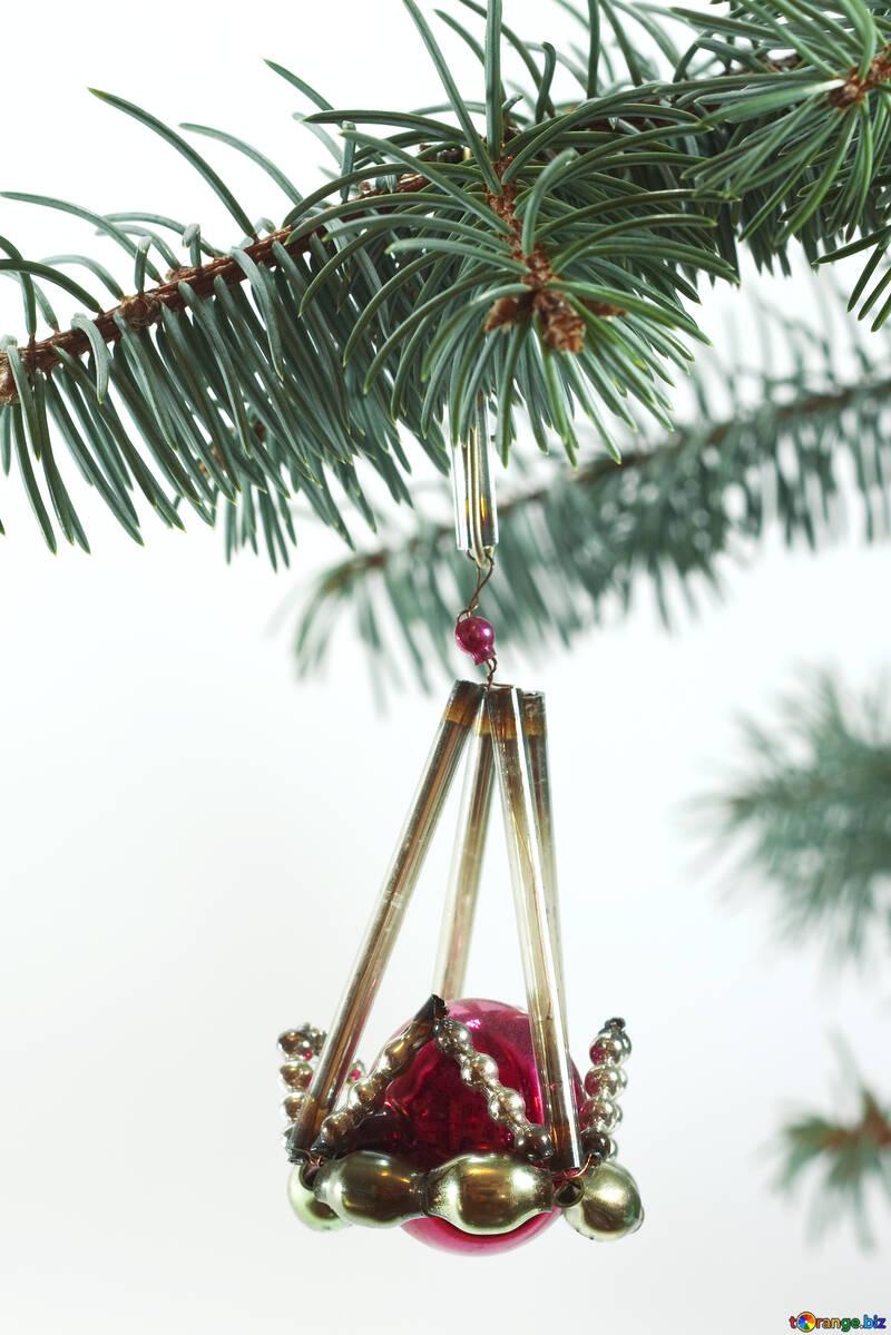 Christmas  Toy . 19  century. №6754