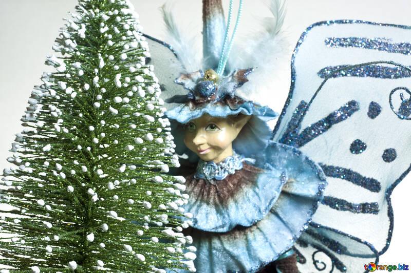 La Navidad Hada Cuento №6604