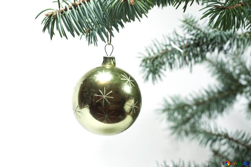 Christmas  ball  at  thread №6813