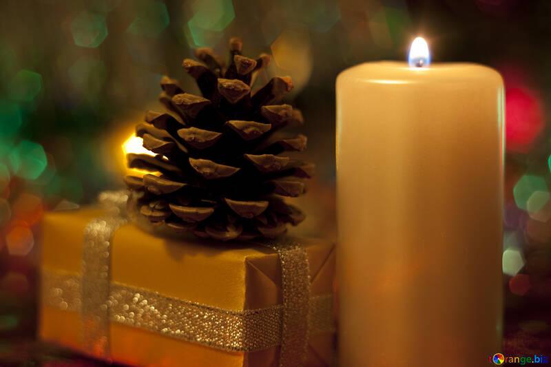 Kerze Geschenk , , Schuß. №6625
