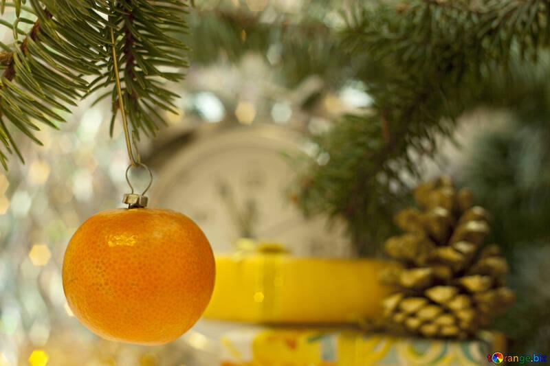 New Year  Mandarin №6865