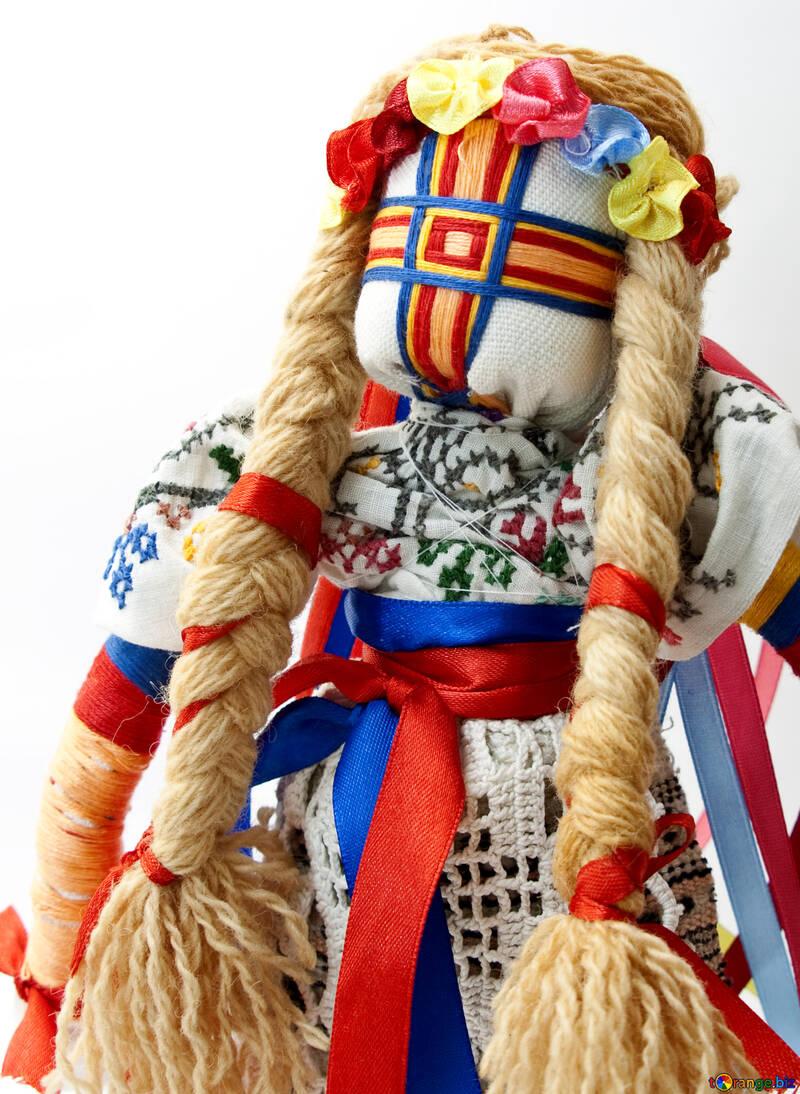 Puppe motanka №6044