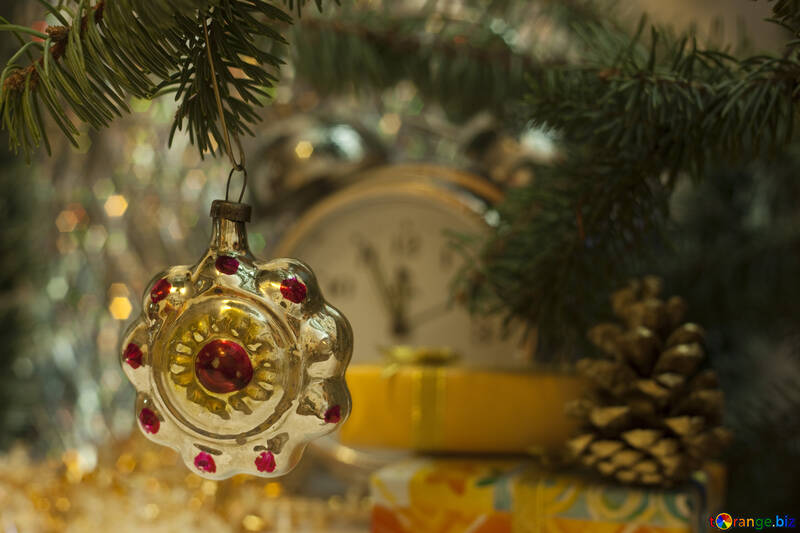 Fir tree the toy Rarity the USSR №6883