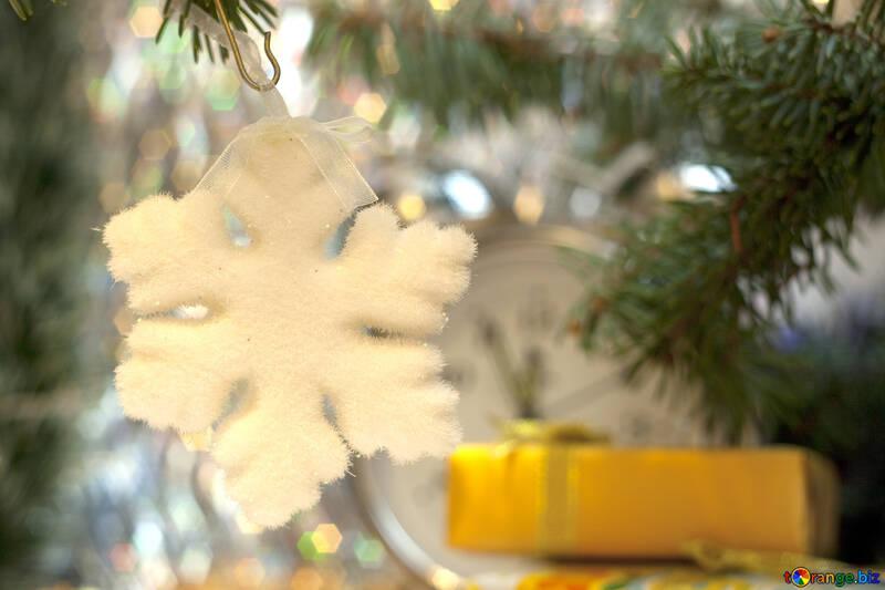 Christmas  snowflake. №6859