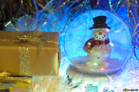Christmas background gifts. №6545