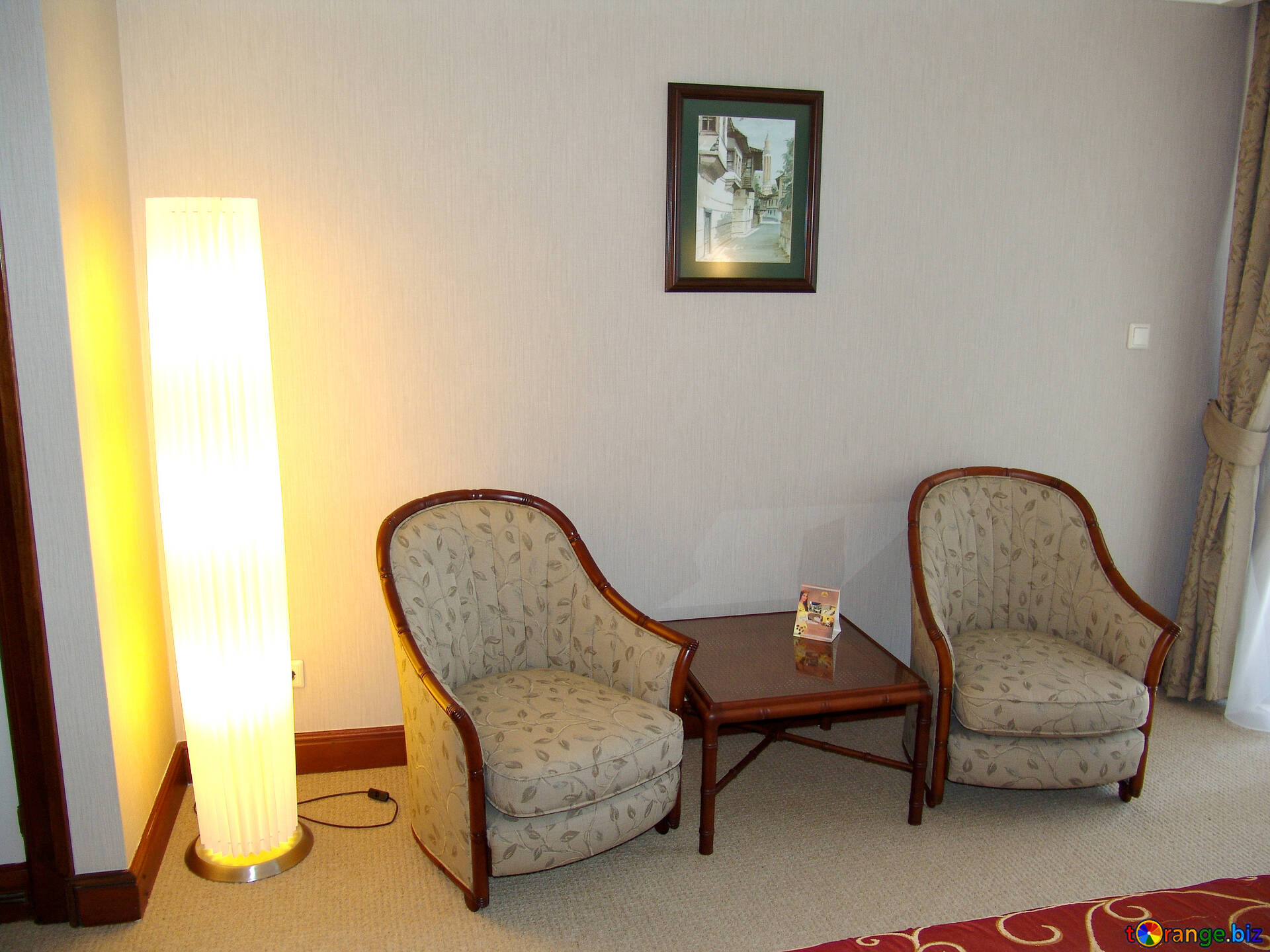 Armchairs luxury room hotel. furniture № 7936