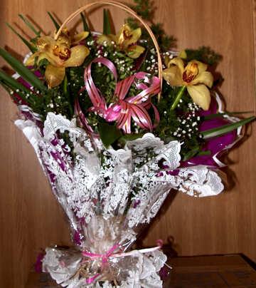 Mazzo Orchidee  №7578